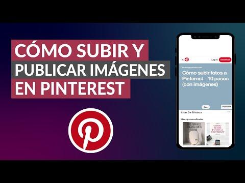 Cómo Subir y Publicar Imágenes y Fotos en Pinterest paso a paso