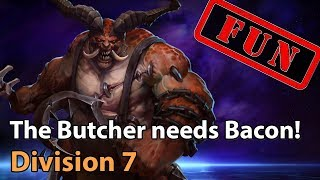 ► Heroes of the Storm: The Butcher needs Bacon! - Division 7 - Heroes Lounge