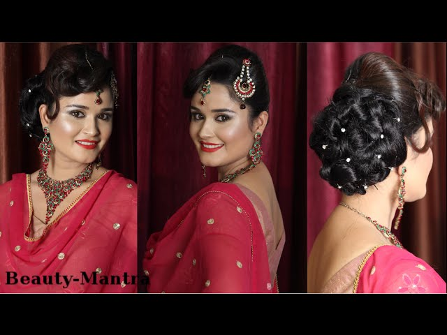 Bridal Hairstyle Jura With Arabic Touch Tikka Pasaa