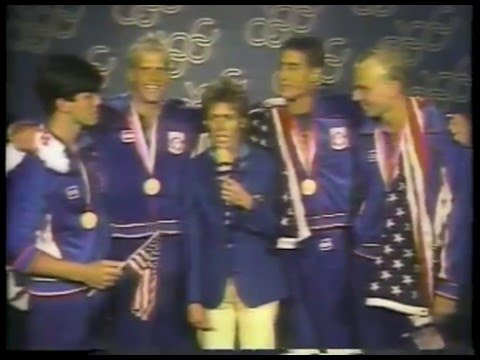 Olympics - 1984 Los Angeles - Mens Swimming 100m Freestyle - USA Rowdy Gaines  imasportsphile