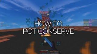 How to Pot Conserve ft. Adviser | PvP Tutorial