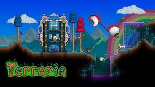 Terraria Lets Play w/Hobrick - A new friend