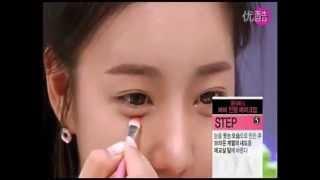 韓國女孩最新化妝技巧-(芭比娃娃妝)-女生必看@@ thumbnail
