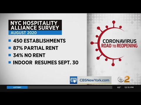 Grim Statistic In Road To Reopening: 87% Of NYC Restaurants, Bars Couldn't Pay Full Rent In August