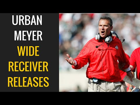 Urban Meyer: Wide Receiver Releases