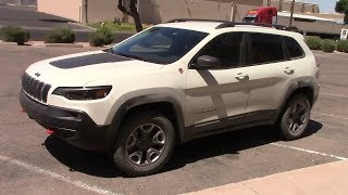2019 Jeep Cherokee Trailhawk Turbo: 700 Mile Performance & Economy Drive!