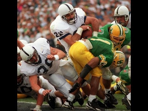 1995 Rose Bowl  Penn State (11-0) vs. Oregon (9-3) 2nd half