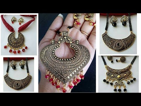 Traditional handmade jewelry set/latest jewelry designs 2018