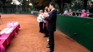 Открытие теннисного турнира
