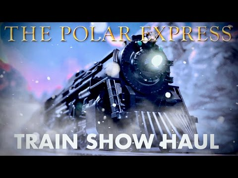 HO Polar Express Train Show Haul (Buying Accessories For HO Layout)