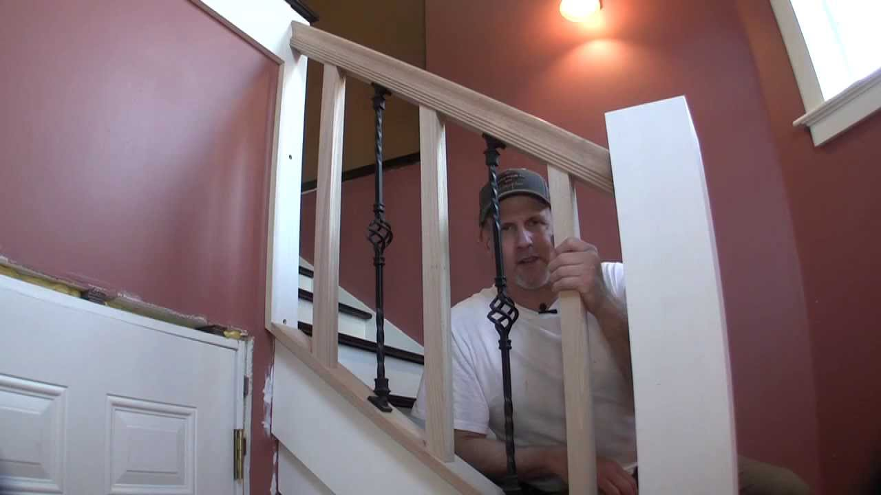Build Removable Stair Rail Pt 1 You