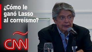 Lasso invitará a Juan Guaidó a su investidura y se sorprendió por felicitaciones de Correa y Arauz