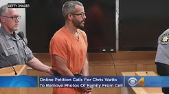 Online Petition Calls For Chris Watts To Remove Photos Of Murdered Family From Cell