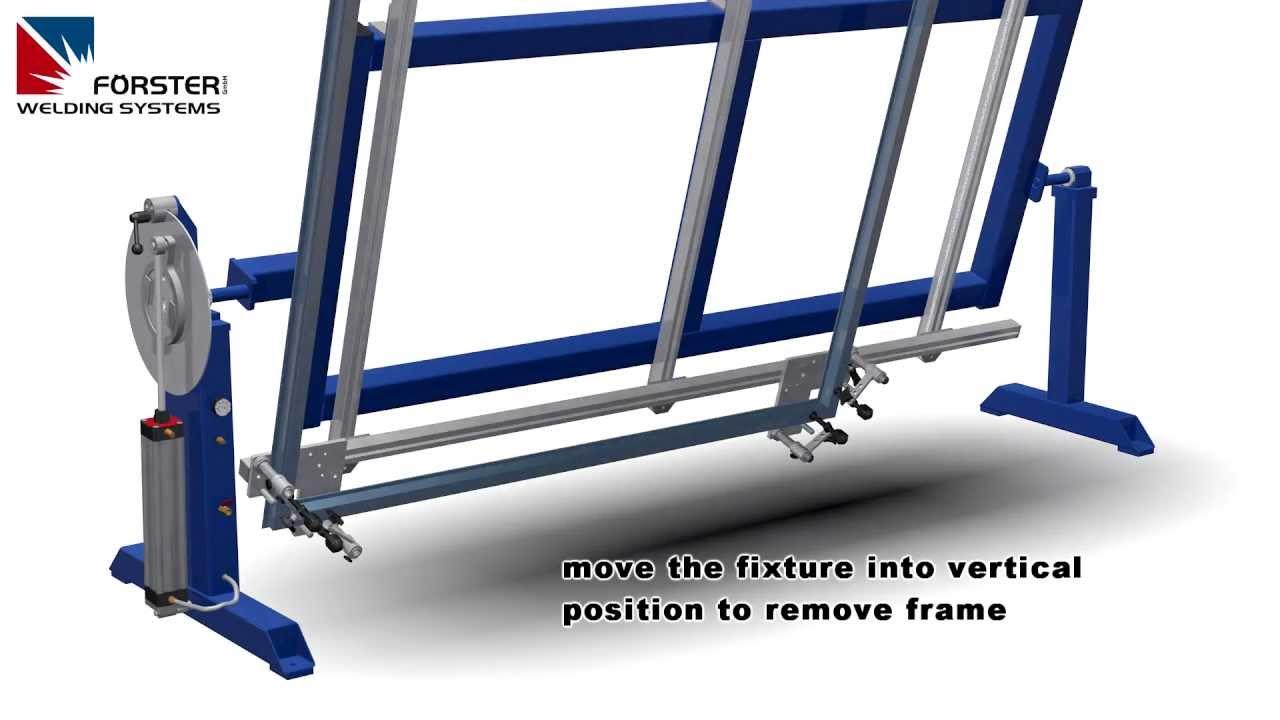 Frame Welding Fixture Welding Table Weld Jig Youtube