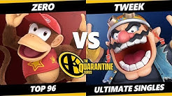 The April Minor Top 96 - ZeRo (Mario, Diddy Kong) Vs. Tweek (Wario) Smash Ultimate - SSBU