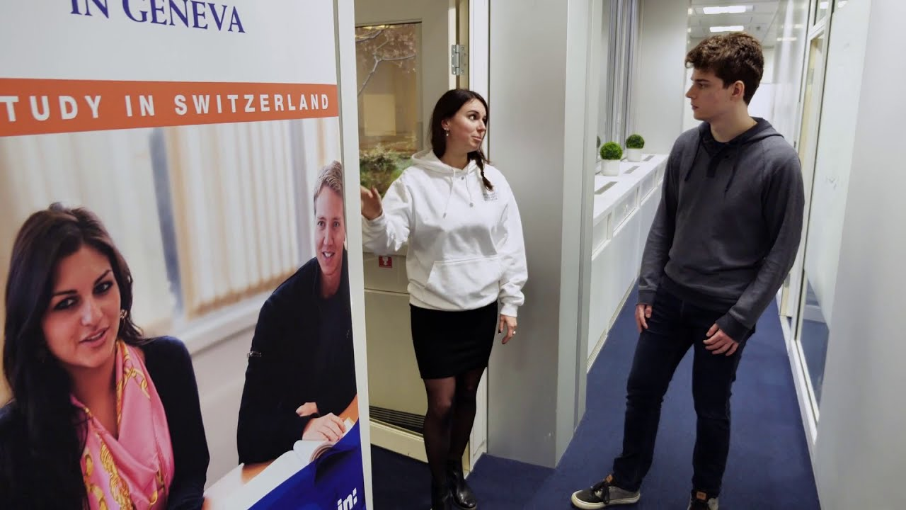 Vidéo de visite virtuelle pour l'Université Internationale de Genève (IUG)