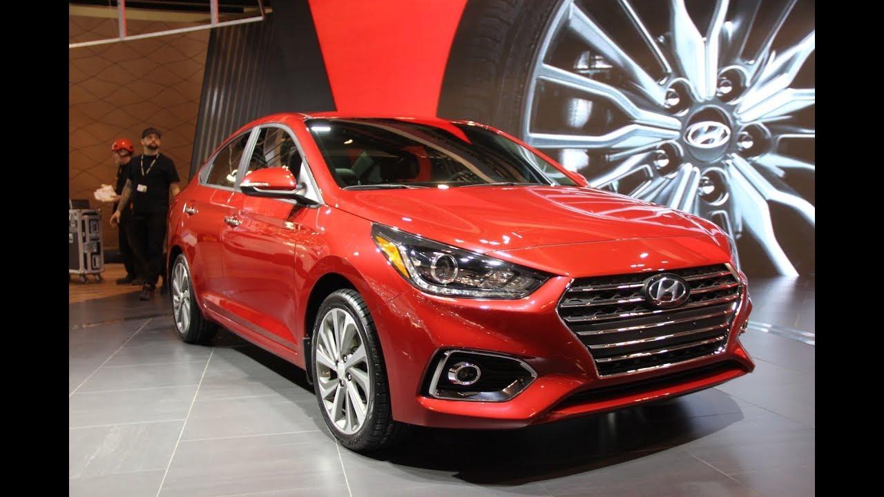 2019 Hyundai Accent Sedan First Look Spy Shots New Models Youtube