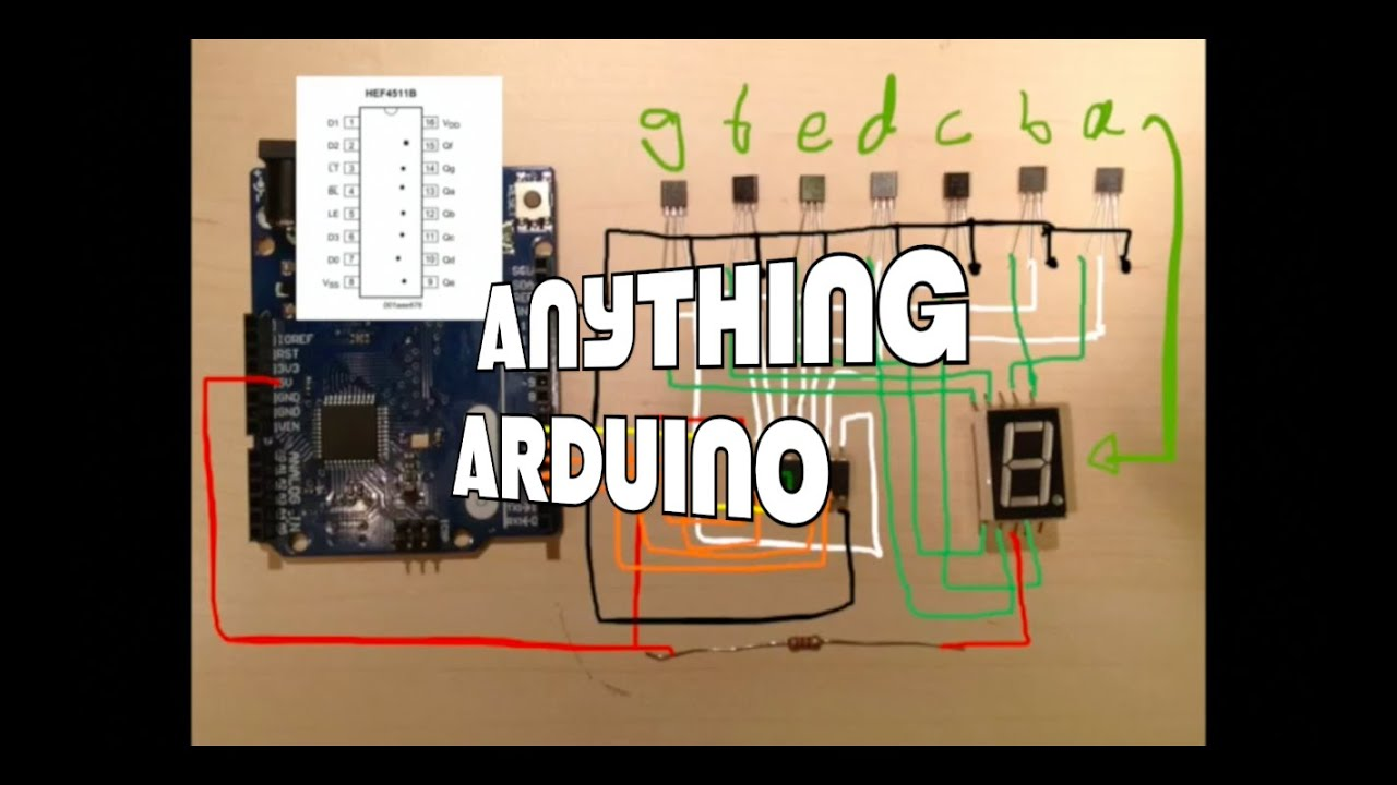 Tutorial - Arduino and MC14489 LED Display Driver