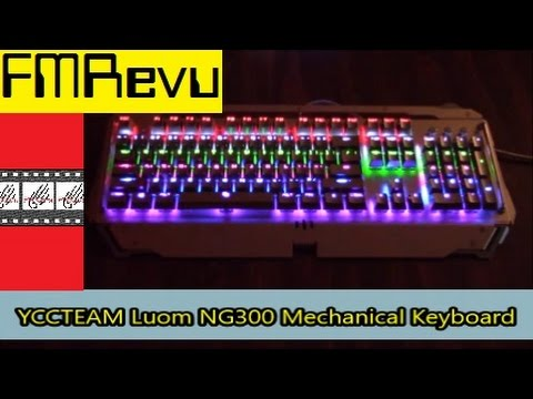 YCCTEAM Luom NG300 Mechanical Keyboard | Best Gaming Keyboard for FPS & MMO