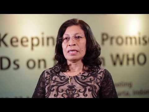 Vice Minister of Health, Timor-Leste, on ending neglected tropical diseases