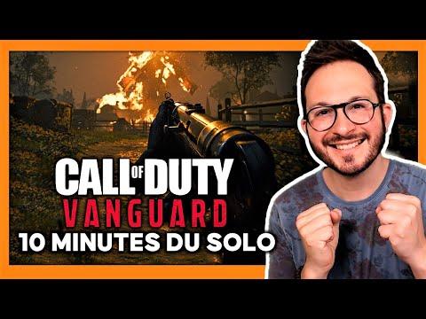 Call of Duty Vanguard : j'ai vu 10 min du SOLO en AVANT-PREMIÉRE c'est SUPERBE 🔥 Je vous dis tout...