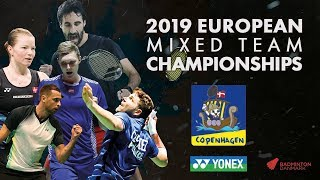 France (Gicquel / Labar) vs Netherlands (Maas / Tabeling ) -Day 3- European Mixed Team C'ships 2019