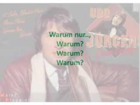 Udo Jurgens Warum Nur Warum Karaoke Compri