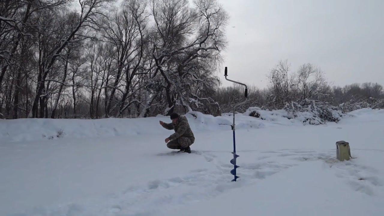 Охота на Рыбалку. Ловля на мормышку в Январе