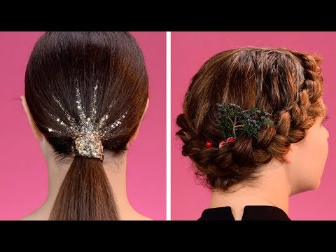 Cute Winter Hairstyle Ideas! | Easy and Simple Life Hacks by Blusher thumbnail