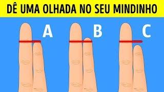 A Forma Dos Dedos Determina Seu Tipo De Personalidade E Riscos À Saúde