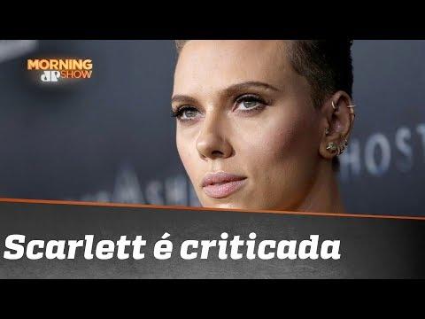 Scarlett Johansson é Criticada Por Interpretar Trans