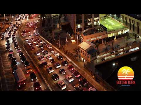 Brickell Avenue Bridge Timelapse 4K