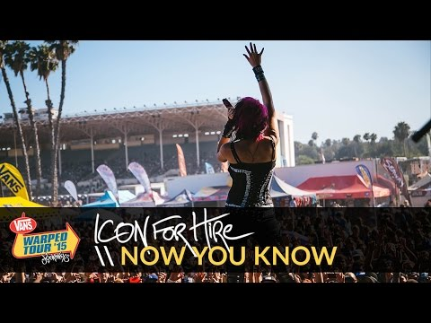"""Icon for Hire - """"Now You Know"""" Live 2015 Vans Warped Tour Webcast"""