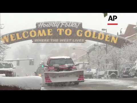 Spring Storm Dumps More Snow on Colorado