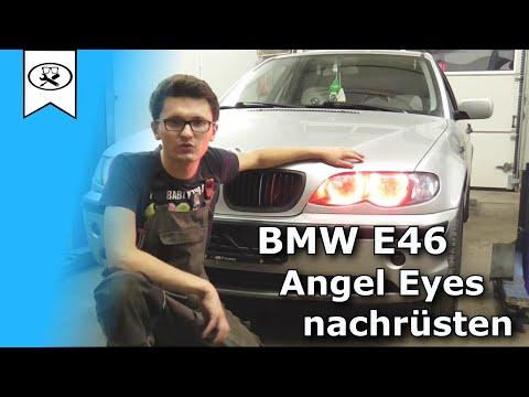 BMW E46 Angel Eyes mit Funkfernbedienung Nachrüsten | how to retrofit angel eyes with remote control