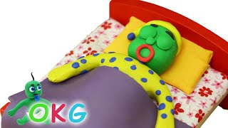 Fast Asleep Stop Motion   Animated Clay Characters   OKG Animated Short Films