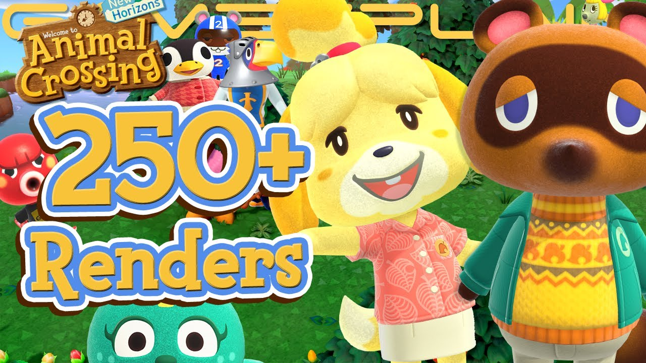 250 Animal Crossing New Horizons Renders Reveal Tons Of Returning
