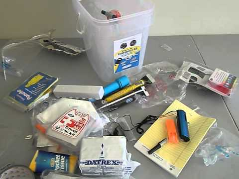 DHS emergency / disaster preparedness kit review