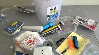 DHS emergency / disaster preparedness kit review