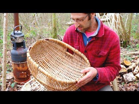 How To Make A Traditional Split Hazel Basket - Lewis Goldwater