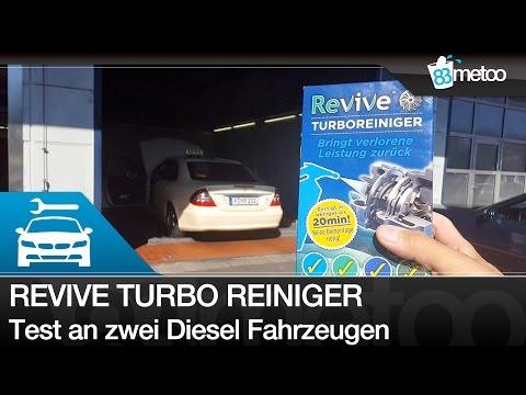 Revive Turbo Reiniger Diesel - Turbo Cleaner Test Turbo reinigen - Mercedes E200 und Mazda Diesel