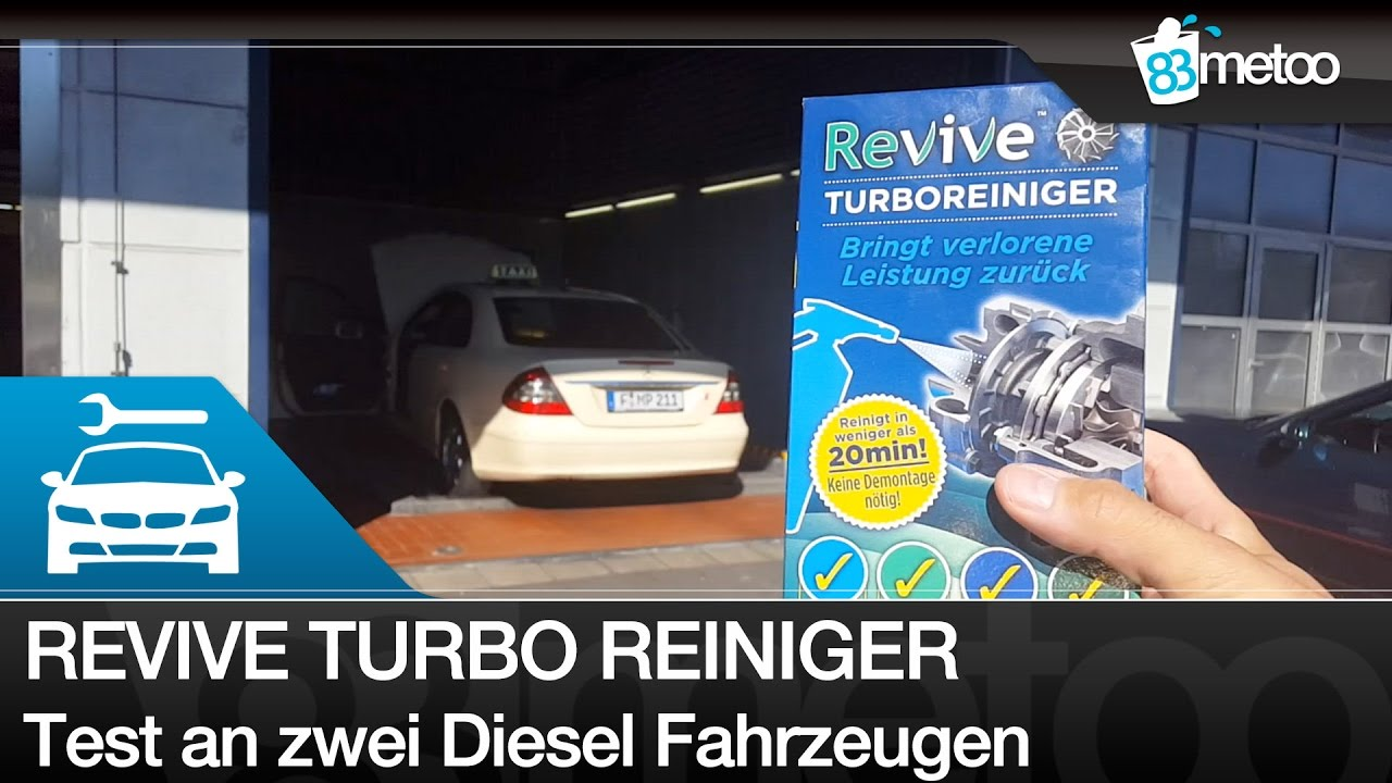 revive turbo reiniger diesel turbo cleaner test turbo reinigen mercedes e200 und mazda. Black Bedroom Furniture Sets. Home Design Ideas