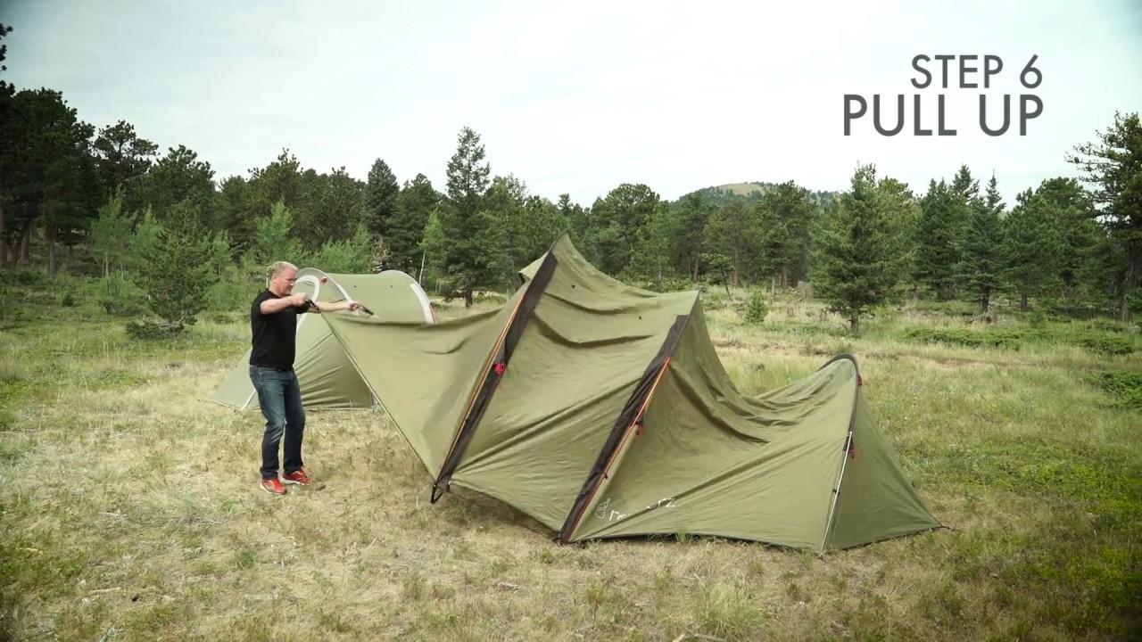One Minute Atacama Tent Setup by Redverz & One Minute Atacama Tent Setup by Redverz - YouTube