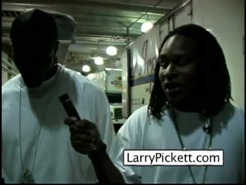 Plaxico Burress and Larry Pickett (the origin of the Steelers logo)