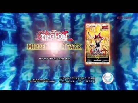 Yugioh Konami Commercial  Millennium Pack TCG