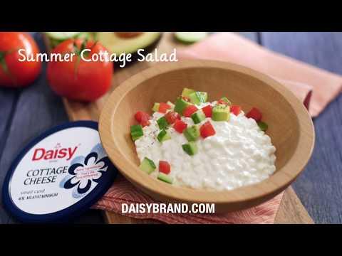 Summer Cottage Cheese Salad