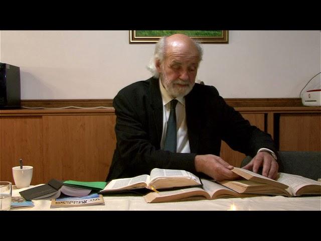 2021.09.14. Iványi Gábor - Bibliaóra - Megbékélés Háza Templom