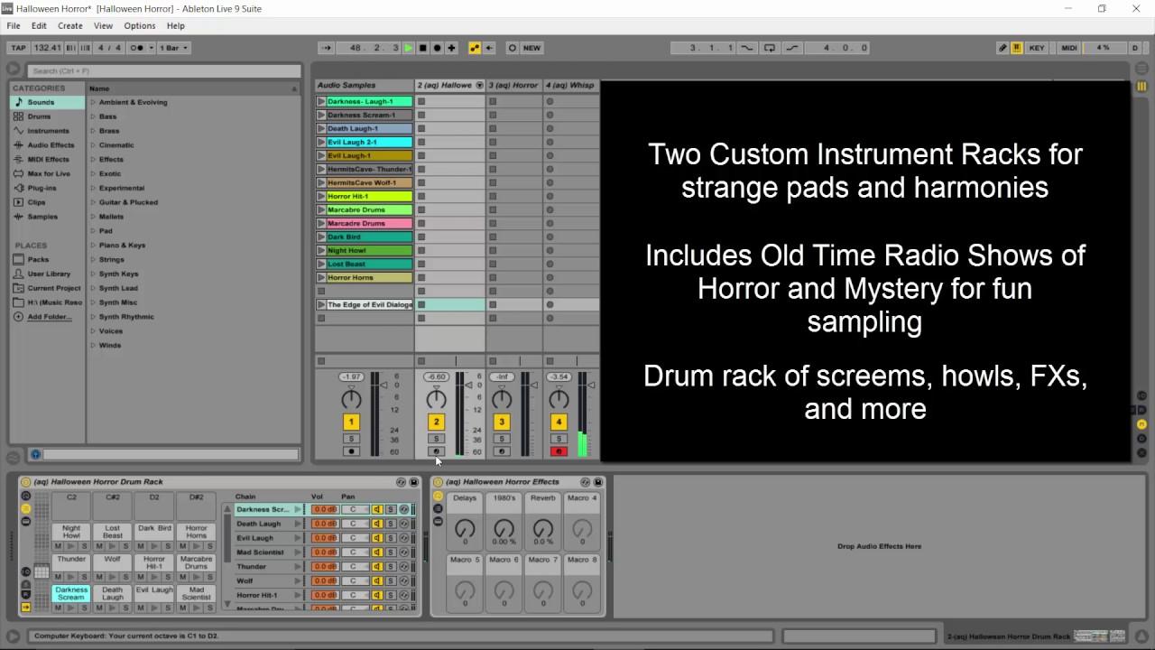 Halloween Horror Free Live Pack / Samples