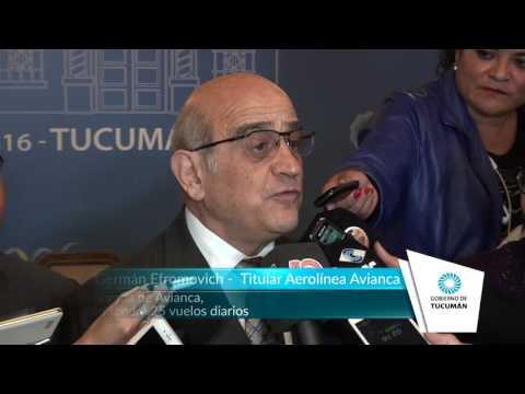 Con la llegada de Avianca, Tucumán tendrá 25 vuelos diarios - Tucumán Gobierno