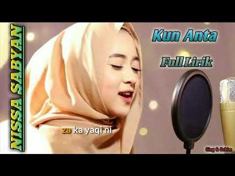 Kun Anta By Nissa Sabyan Full Lirik Top Trending Sholawat 2018